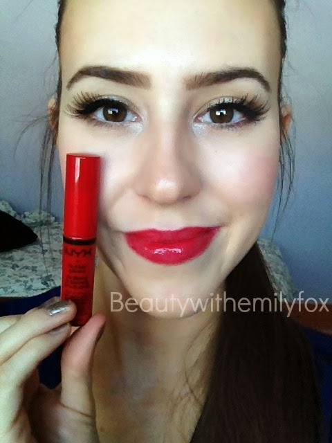 Beautywithemilyfox Nyx Butter Glosses Lip Swatches