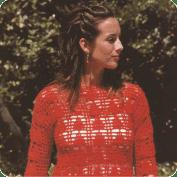 Jersey o Blusa Roja a Crochet o Ganchillo