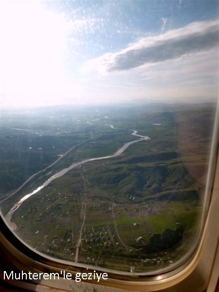 uçaktan kızılırmak nehri resimleri