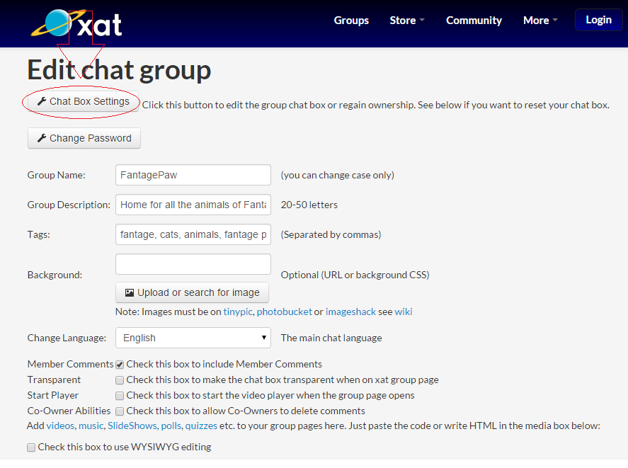 Fantage Paw: How To Add An Xat Chat To Your Blogger Website