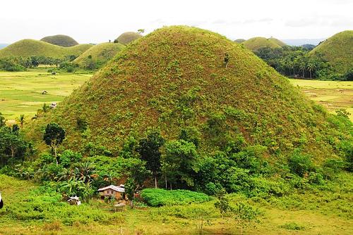 Las colinas forman parte del folclore filipino