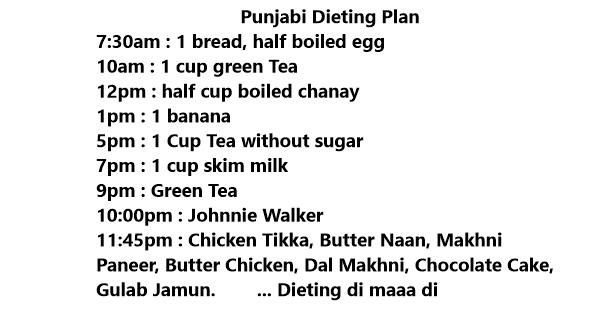 funny diet jokes