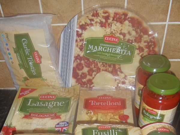 Italian Meals from Aldi
