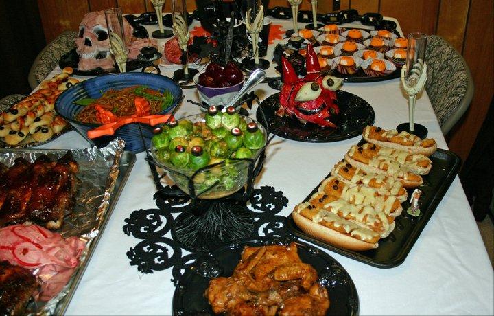 jo and sue halloween dinners no tricks but plenty of treats