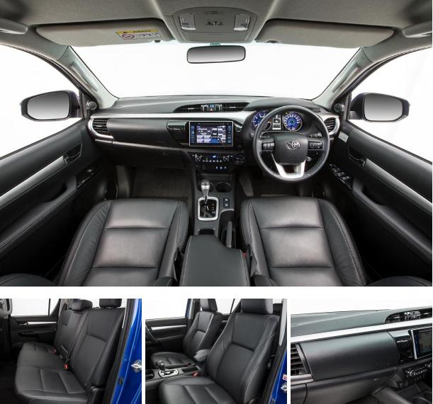 xe Toyota Hilux 2016 phần nội thất không nhiều nổi trội nhưng thực dụng