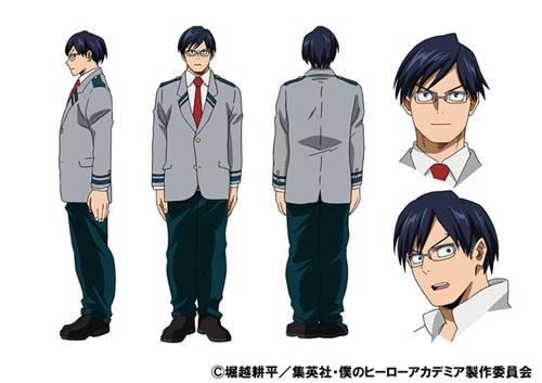 อิดะ เทนยะ (Iida Ten'ya) @ My Hero Academia: Boku no Hero Academia มายฮีโร่ อคาเดเมีย
