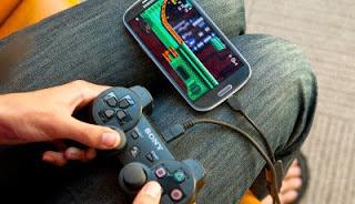 Tutorial Cara Menggunakan Stik PS Main Game di Android dengan usb/bt joycenter