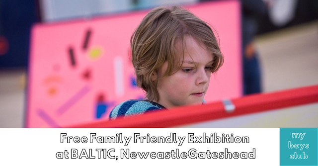 Free Family Friendly Exhibition at Baltic newcastle gateshead #playbaltic