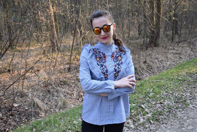 koszula wiosenna