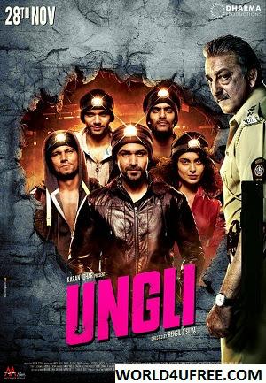 Ungli 2014 Hindi Movie DVDScr 600mb