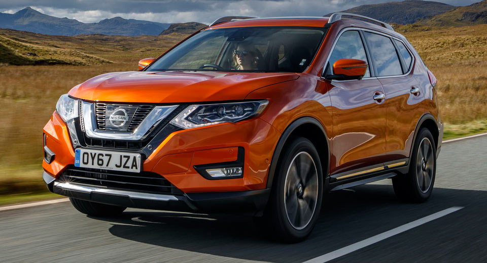 2018 nissan x trail. interesting 2018 refreshed 2018 nissan xtrail arrives in the uk from 23385 otr 36 pics inside nissan x trail