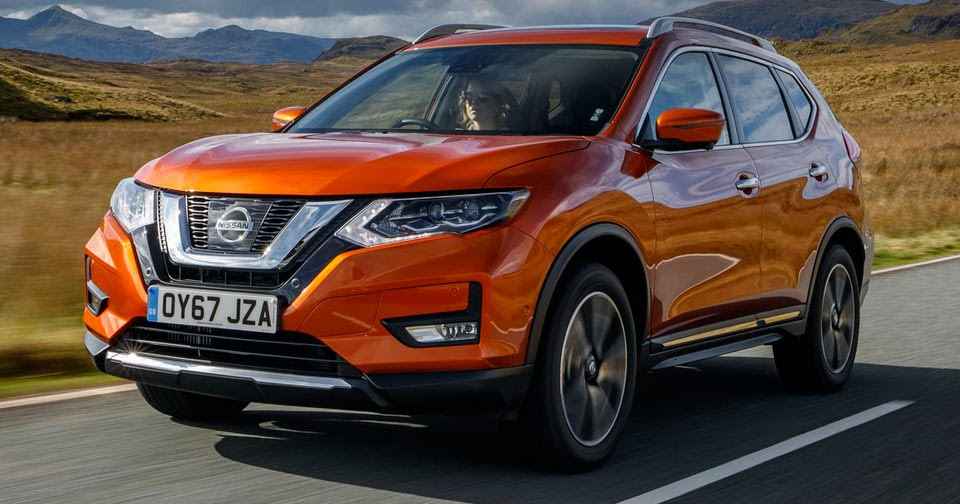 refreshed 2018 nissan x trail arrives in the uk from 23 385 otr 36 pics. Black Bedroom Furniture Sets. Home Design Ideas