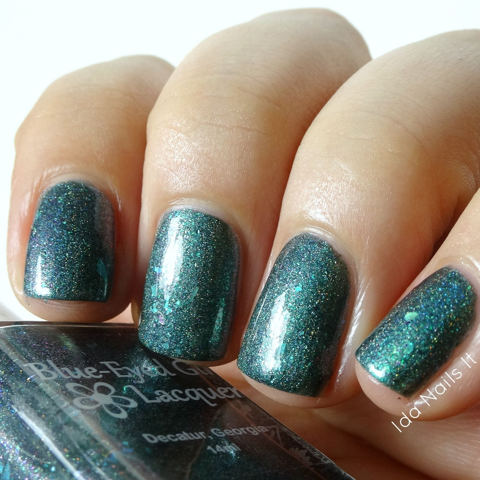 Ida Nails It: The Color Box - Green: Swatches and Review