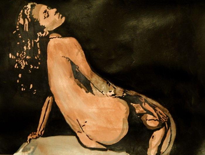 Сербский художник. Alexandra Djokic