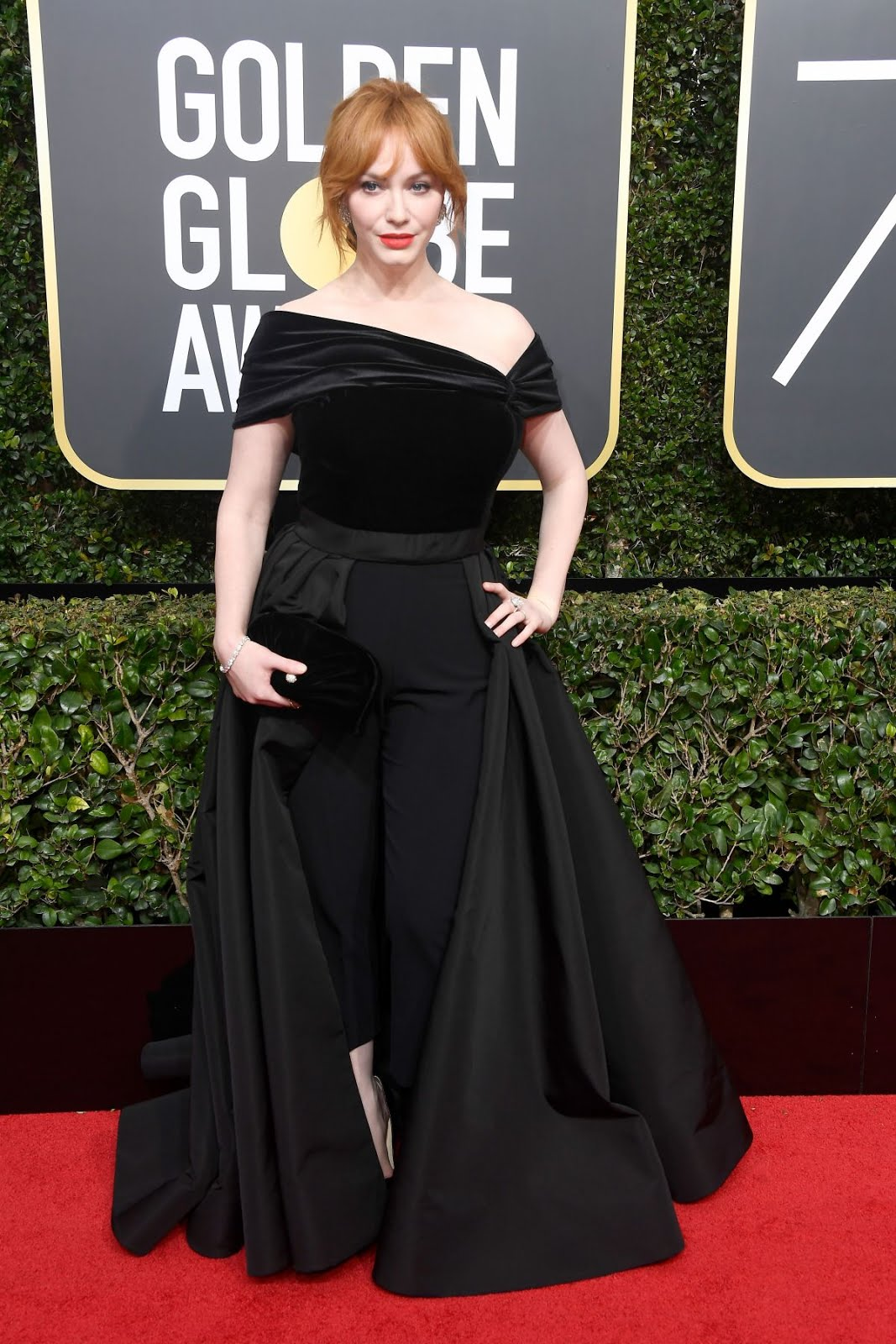 Christina Hendricks At 75Th Annual Golden Globe Awards In Beverly Hills