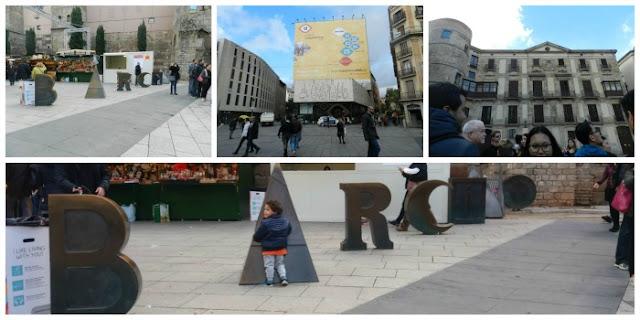 Praças para curtir Barcelona - Plaça de la Seu e Plaça Nuova