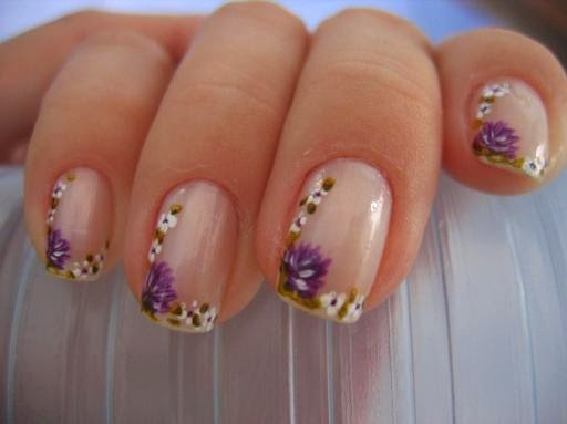 decoracion de uñas lindas casuales, uñas muy sport y casuales para cualquier ocacion