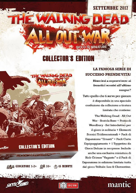 The Walking Dead: All Out War (collector's edition)