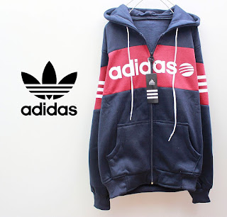 Jaket & Sweater Fleece Hoodie Adidas ADS003