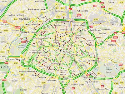 les calques dans Google Maps!
