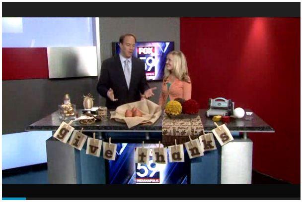 Last-Minute DIY Thanksgiving Decor Ideas {Fox59} 5
