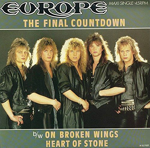 Europe The Final Countdown single sleeve