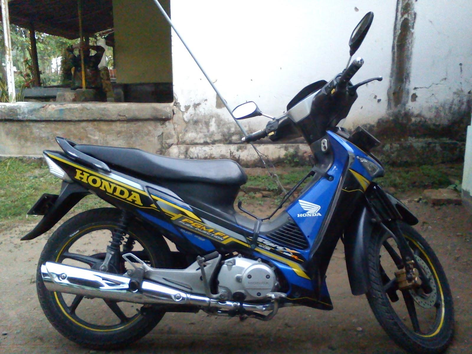 sepeda motor honda 2012 di indonesia five posting