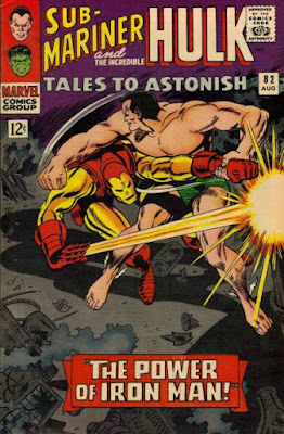 Tales to Astonish #82, Sub-Mariner vs Iron Man