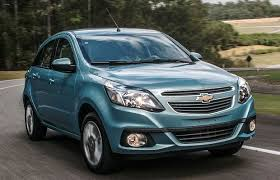 Baixa Venda do Chevrolet Agile e Sonic