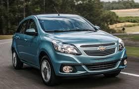 Baixa Venda do Chevrolet Agile e Sonic
