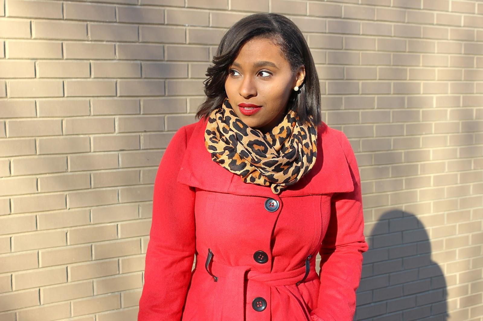 Washington, DC, the district, lifestyle blog, red coat, style blogger