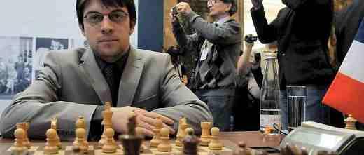 Le joueur d'échecs du mois: Maxime Vachier-Lagrave, n°4 mondial