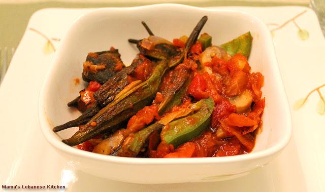 Vegetarian Stew of Okra – Bemieh