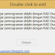 Membuat Double Click To Edit