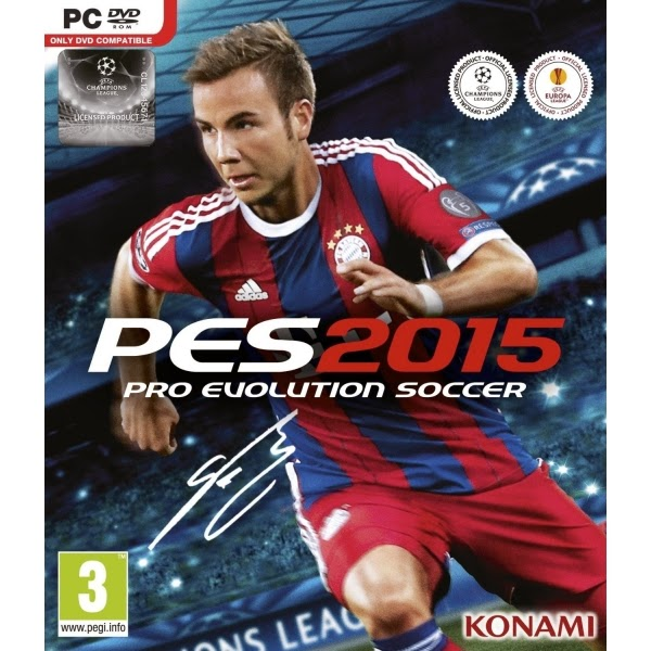 Pro Evolution Soccer 2015 Cover