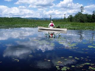 SCHROON RIVER paddling, eastern Adirondacks