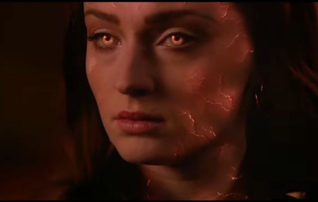 sophie turner is jean grey in the x men movies