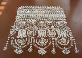 square alpana designs