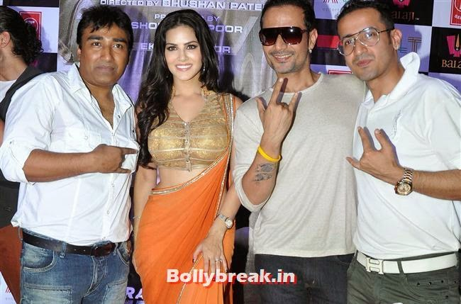 Sunny Leone and Meet Brothers, Sunny Leone at Ragini MMS 2 Success Bash