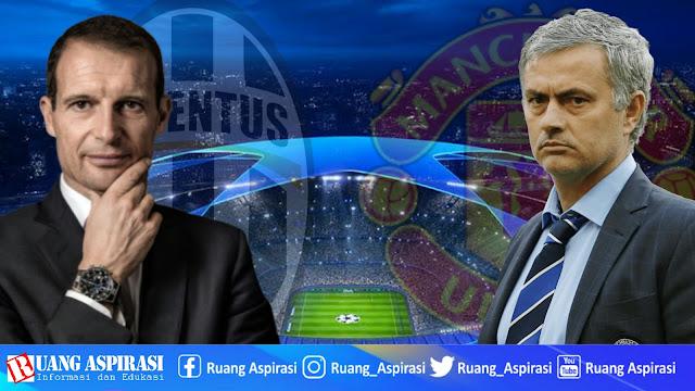 Prediksi, siarang langsung, dan hasil pertandingan Uefa Champions League Juventus Vs Manchester United