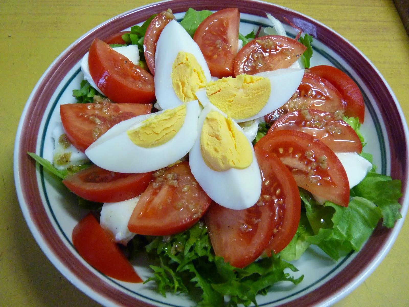 sałatka na diete i nie tylko