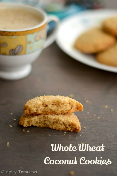 EgglessWheat Cookies