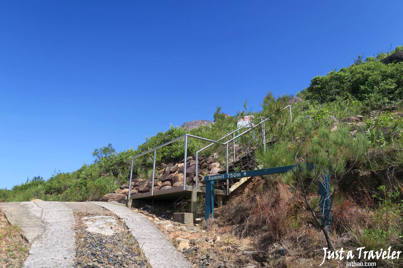 凱恩斯-大堡礁-翡翠島-登山-內堡礁-景點-推薦-旅遊-自由行-澳洲-Carins-Great-Barrier-Reef-Fitzroy-Island-hiking-mountain-Travel-Australia