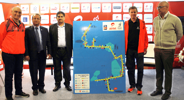 Procam International announced detailed arrangements  for all participants at the Airtel Delhi Half Marathon 2016