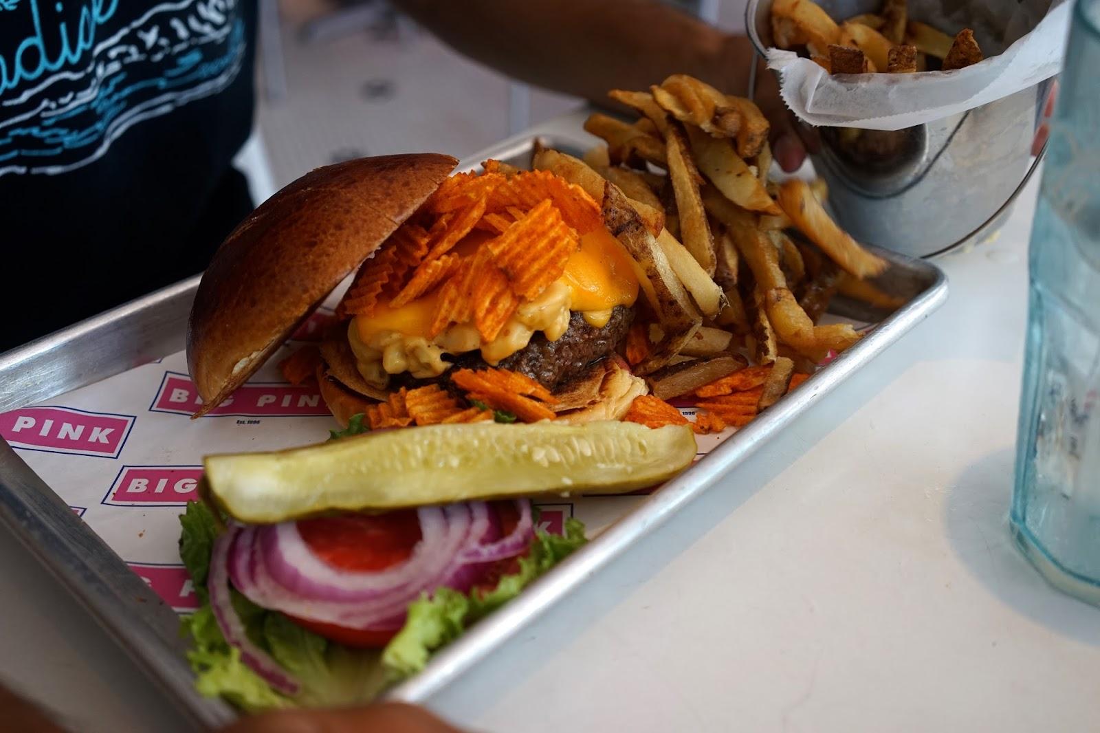 the big pink miami burger