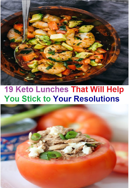 19 Keto Lunches That Will Help You Stick to Your Resolutions