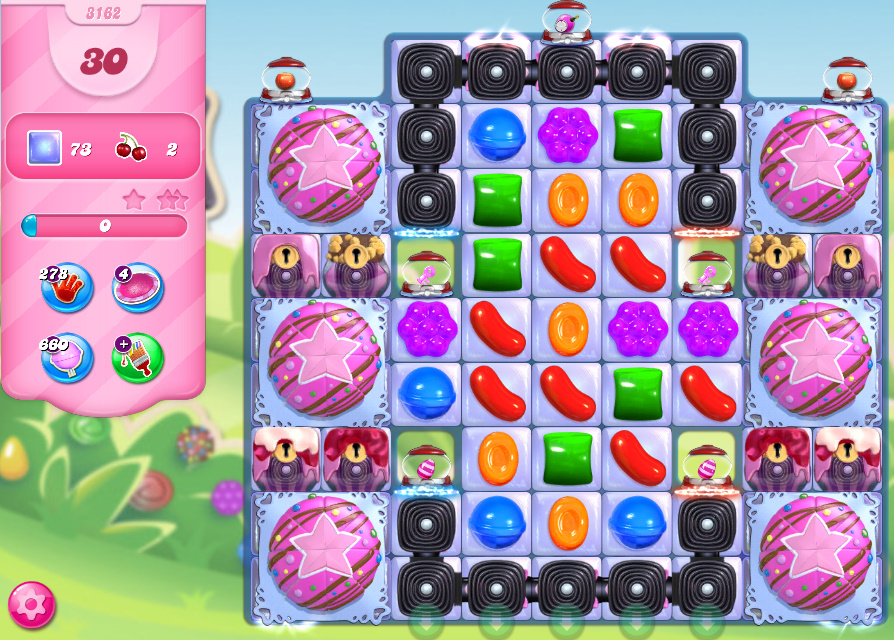 Candy Crush Saga level 3162