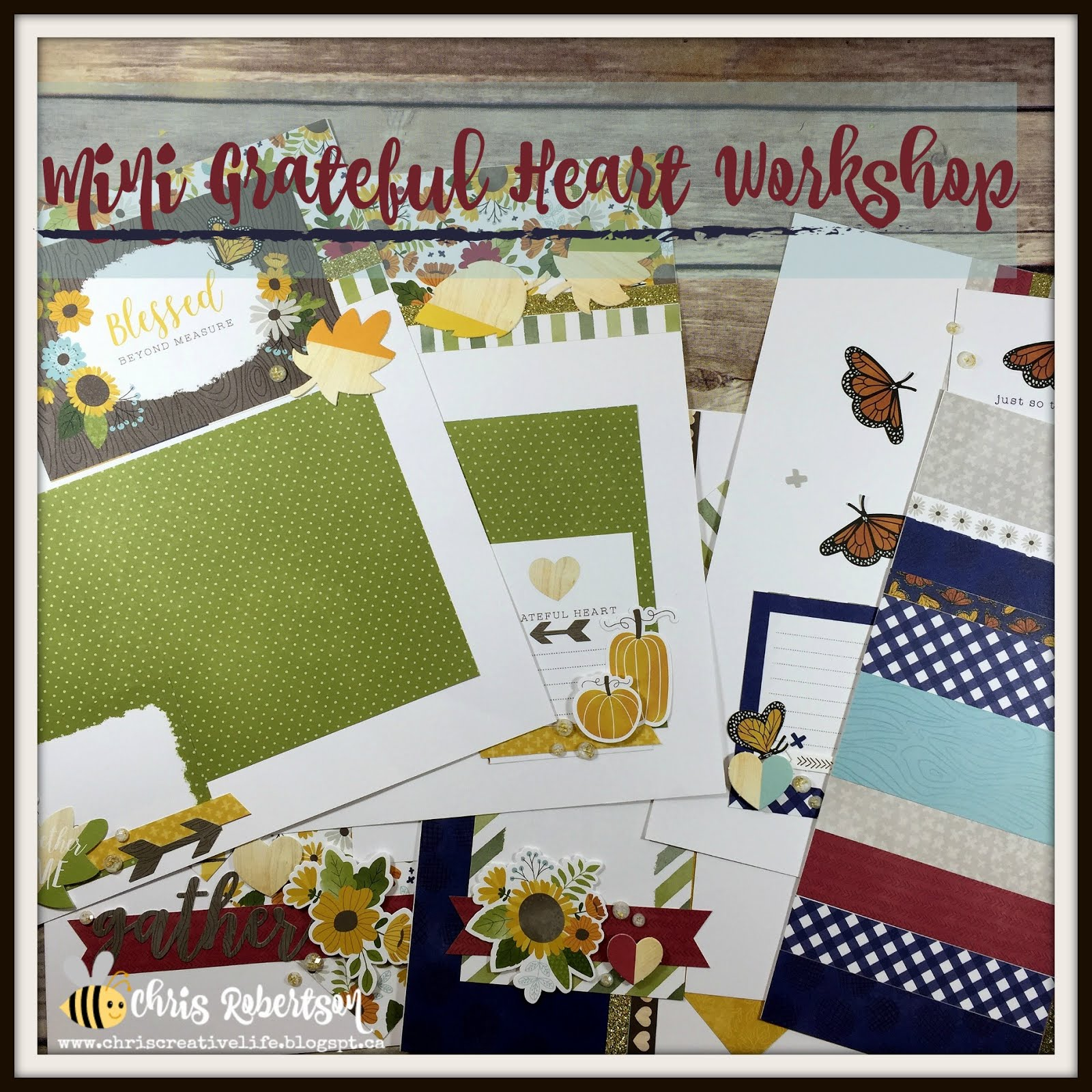 Grateful Heart Mini Workshop