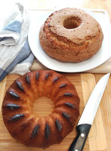 Receta del bizcocho de la abuela con canela y limón