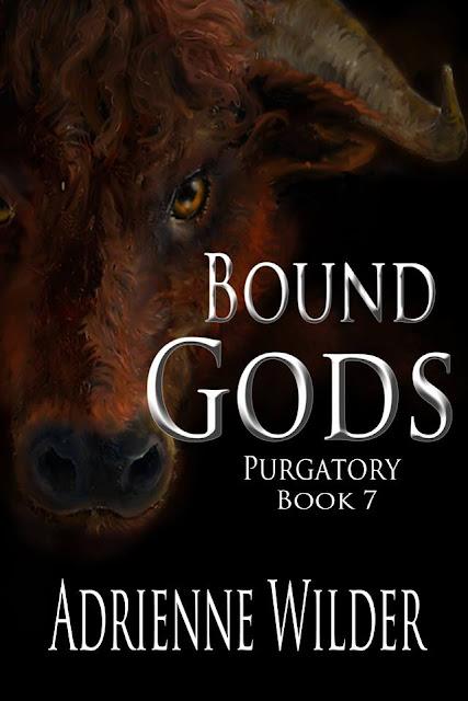 cover, Bound Gods, Adrienne Wilder, lgbt